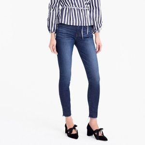 J Crew • High Rise Skinny Jeans Cutoff Raw Hem